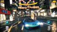 McLaren P1 in Christmas Tokyo