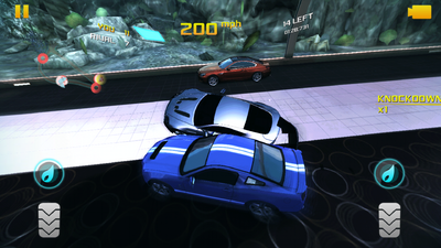 Asphalt 8 Knockdown mode