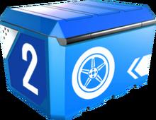 A8Box 2-Tire Box