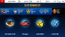 TVR Elite League Rewards