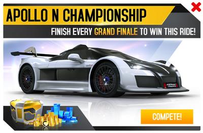 Apollo N Championship Promo