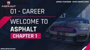 Career welcome to asphalt chapter 1