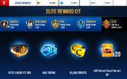 Enzo Elite League Rewards