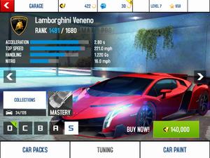 LamborghiniVenenoStats