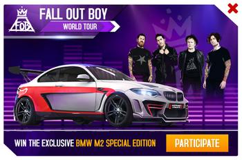 BMW M2 SE World Tour Promo