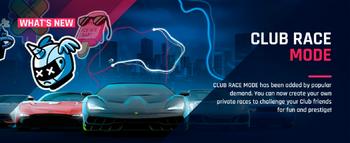 Club Race Mode