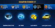 Lamborghini Asterion Champion League Rewards