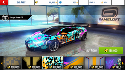 Savage Rivale GTR Decal 25