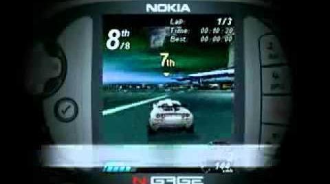 Nokia N-Gage Asphalt Urban GT Trailer