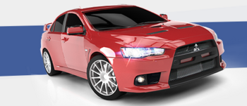 Mitsubishi Lancer Evolution X GL confidential
