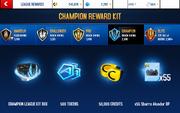 Alcador Champion League Rewards (2)