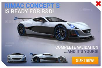 Rimac Concept S R&D Promo