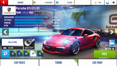 A8A Porsche 911 GT3 RS MAX