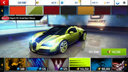 Bugatti Veyron 16.4 Grand Sport Vitesse Decal 10