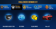 Felino cB7 Challenger League Rewards