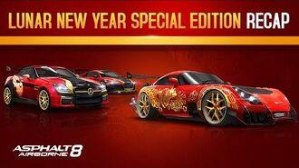 Asphalt 8 Lunar New Year Special Edition car Recap!