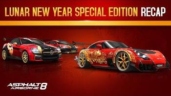 Asphalt 8 Lunar New Year Special Edition car Recap!
