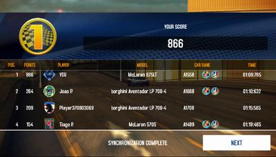 675 lt beat 1668 aventador