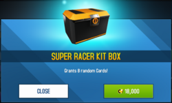 Box Super Racer Kit