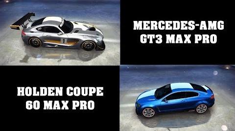 Asphalt 8 - Full test (Mercedes-AMG GT3 vs Holden Coupe)