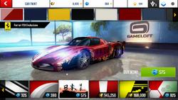 Ferrari FXX Evoluzione Decal 7