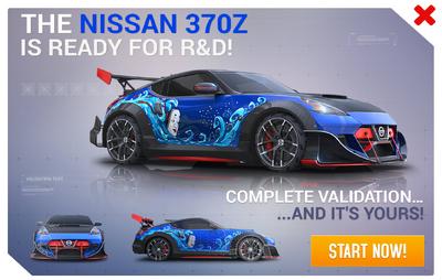 Nissan 370Z SE R&D Promo