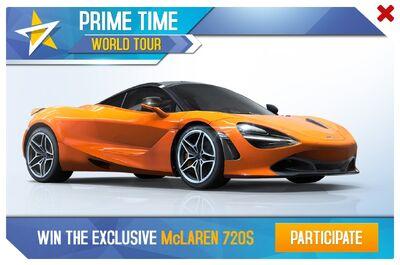 McLaren 720S Prime Time World Tour Promo