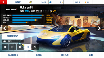 McLaren P1 maxed out and tuning kit