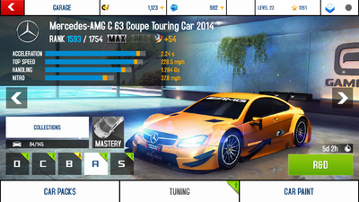 Mercedes-AMG C 63 CTC 2014 MAX+TK