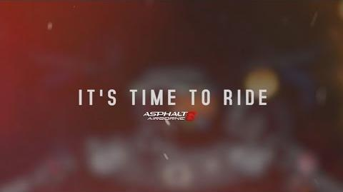 Asphalt 8 Airborne - Teaser - It's Time To Ride