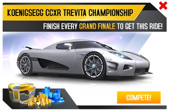 Koenigsegg Ccxr Trevita >> Koenigsegg Ccxr Trevita Championship Asphalt Wiki Fandom