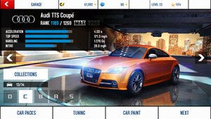 Audi TTS Coupe maxed out