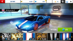 SSC Ultimate Aero XT Decal 8