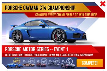 Cayman GT4 Championship Promo
