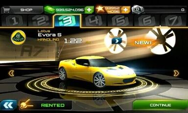 Lotus Evora S Asphalt 7 Heat