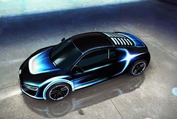 Audi R8 e-tron decal