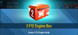Box F12 Enginge
