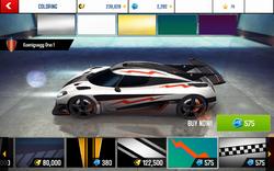 Koenigsegg One-1 Decal 10