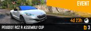 RCZ R BP Cup