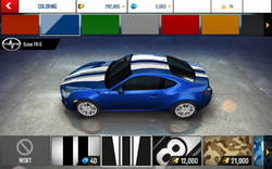 A8 FR-S Decal 2