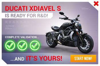 Ducati XDiavel S R&D Promo