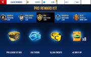 R1 Pro League Rewards