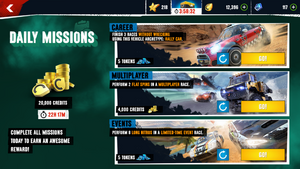 Daily Missions ax