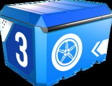 A8Box 3-Tire Box