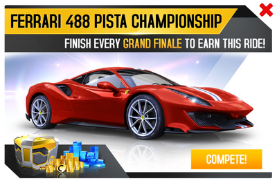 A8 Ferrari 488 Pista Championship Promo