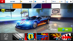 Mosler GT3 Decal 2