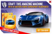 W Motors Fenyr Supersport BP Promo