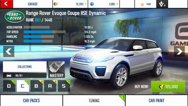 A8A Range Rover Evoque Coupe HSE Dynamic stock + price