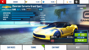 A8A Chevrolet Corvette Grand Sport MAX