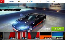 Aston Martin DB9 Coupe Decal 12
